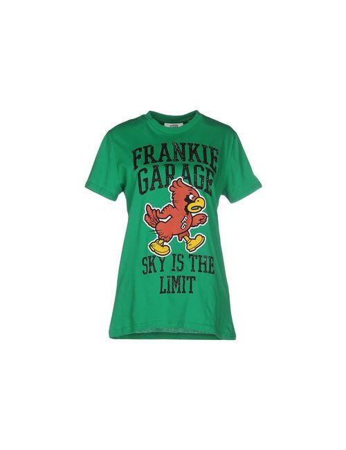 Frankie Garage | Женская Зелёная Футболка