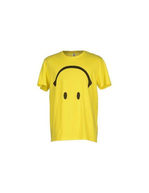 Moschino Swim | Мужская Жёлтая Футболка