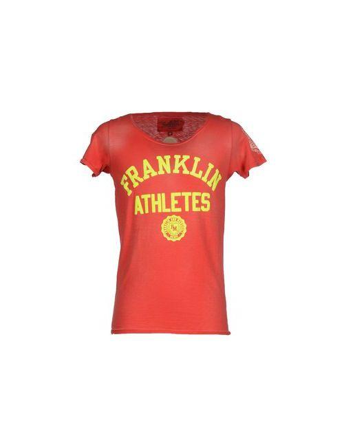 Franklin & Marshall | Мужская Красная Футболка