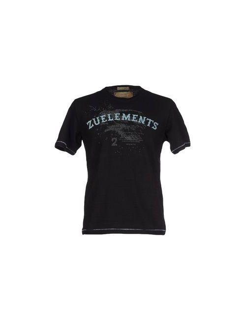 Zu+Elements | Мужская Черный Футболка