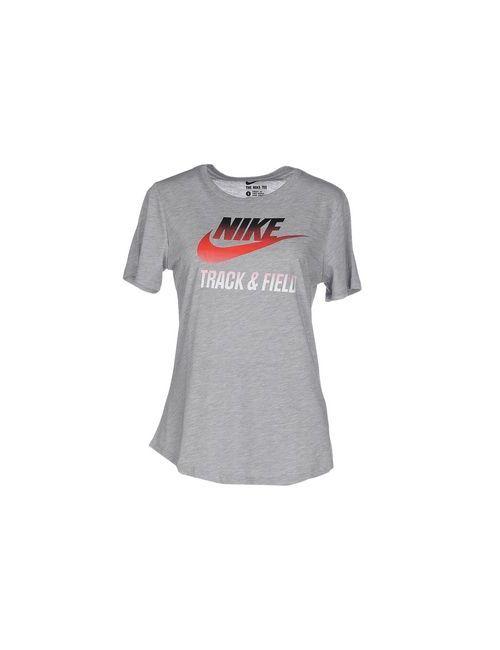 Nike | Женская Серая Футболка