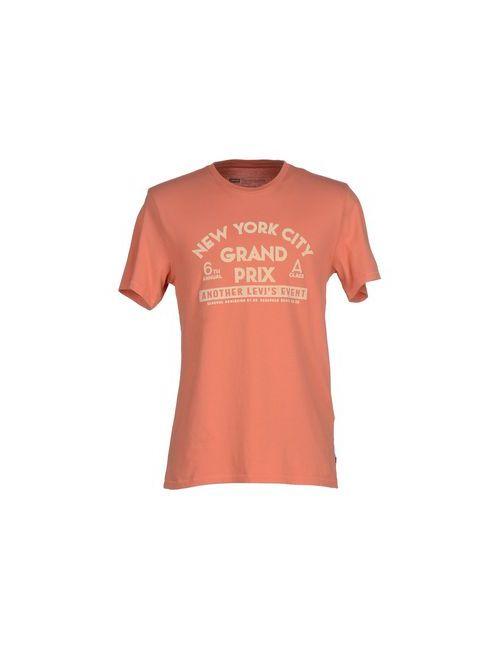 Levi'S Red Tab | Мужская Оранжевая Футболка