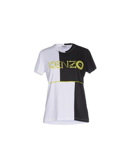 Kenzo | Женская Белая Футболка