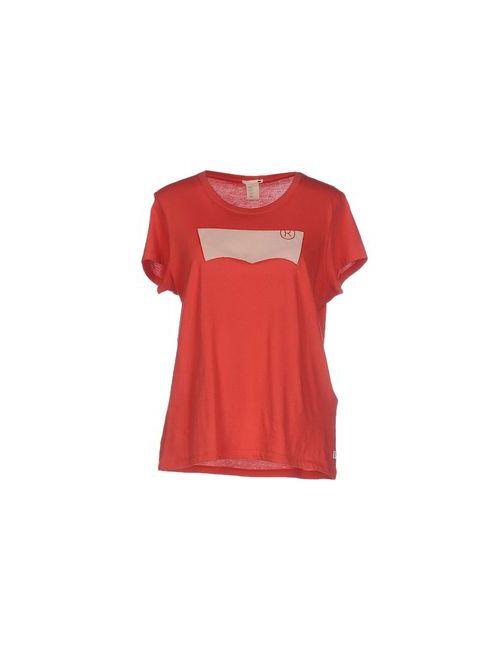 Levi'S Red Tab | Женская Красная Футболка