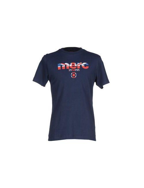 Merc | Мужская Синяя Футболка
