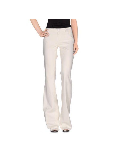 Twin-Set Jeans | Женские Слоновая Кости Джинсовые Брюки