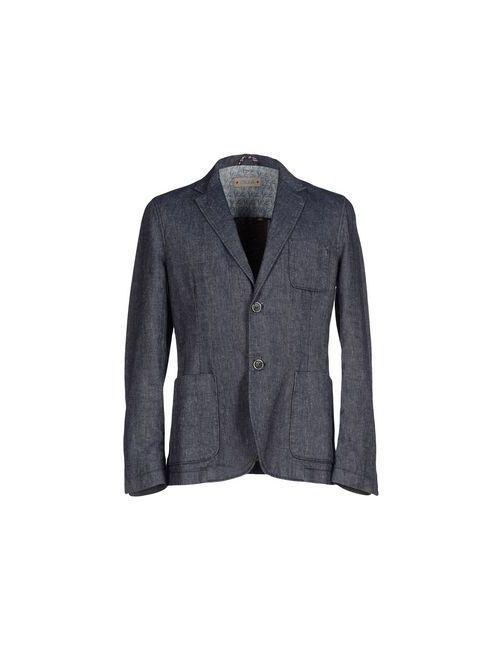 Cruna | Мужская Синяя Джинсовая Верхняя Одежда