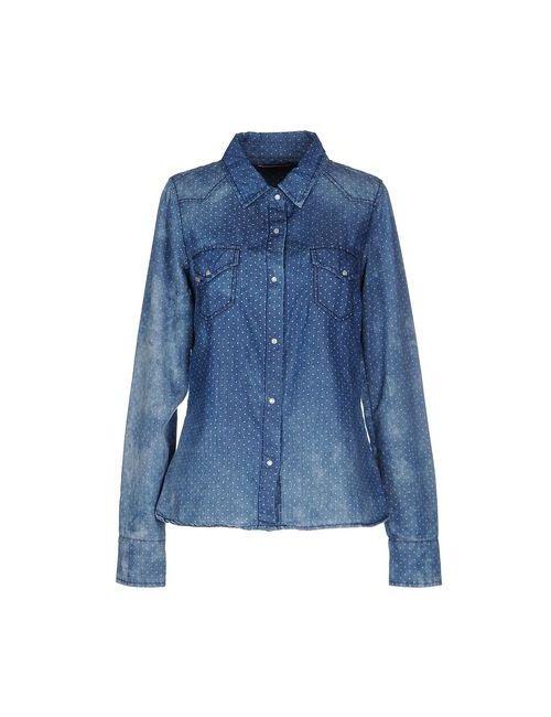 Manila Grace | Женская Синяя Джинсовая Рубашка
