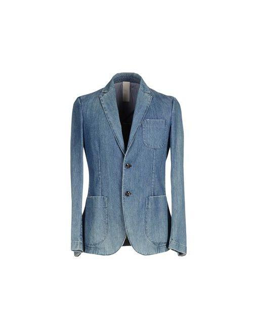 Lorenzo Mancini | Мужская Синяя Джинсовая Верхняя Одежда