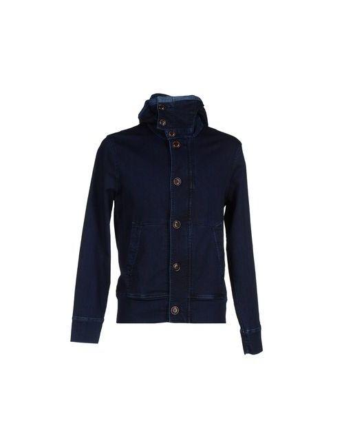 C.P. Company | Мужская Синяя Джинсовая Верхняя Одежда
