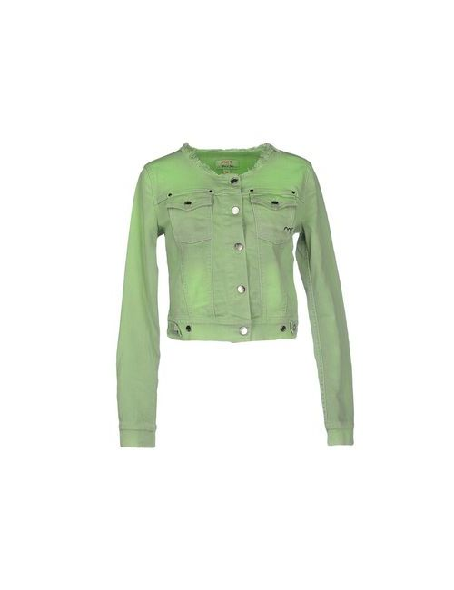 MET | Женская Зелёная Джинсовая Верхняя Одежда
