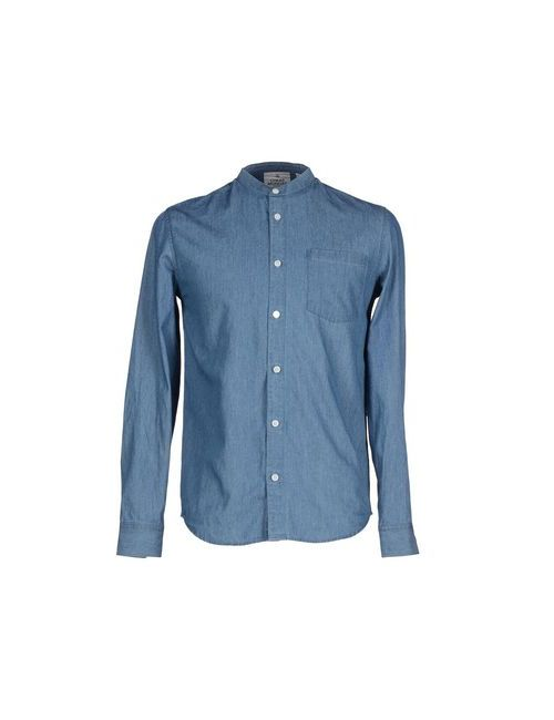 Cheap Monday | Мужская Синяя Джинсовая Рубашка