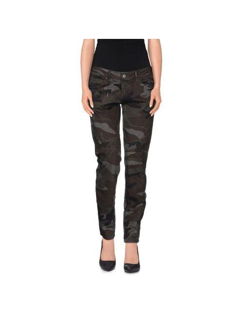 Up ★ Jeans | Женские Зелёные Повседневные Брюки