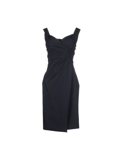 Dsquared2 | Женское Синее Платье До Колена