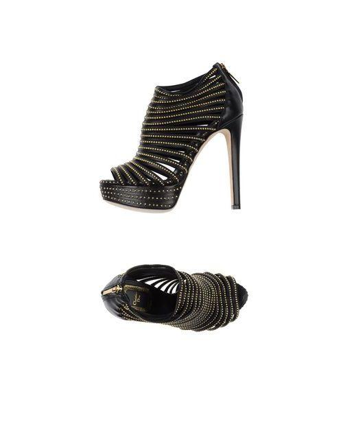 Dior   Женские Чёрные Сандалии