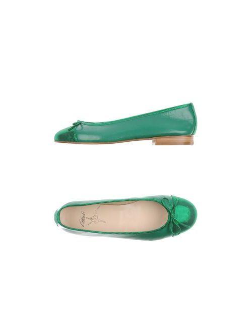 L' Etoile | Женские Зелёные Балетки