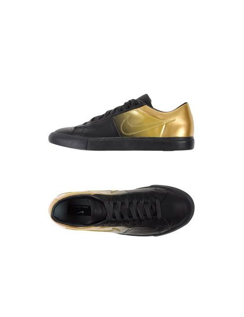 Nike | Женские Чёрные Низкие Кеды И Кроссовки