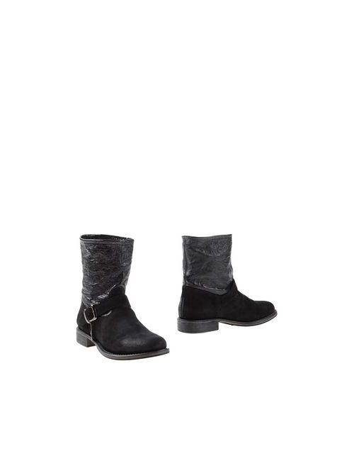 Twin-Set Simona Barbieri | Женские Чёрные Полусапоги И Высокие Ботинки