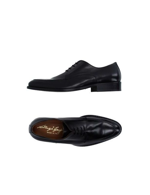 Gianfranco Lattanzi   Мужская Черный Обувь На Шнурках