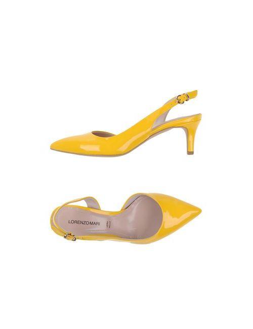 Lorenzo Mari   Женские Жёлтые Туфли