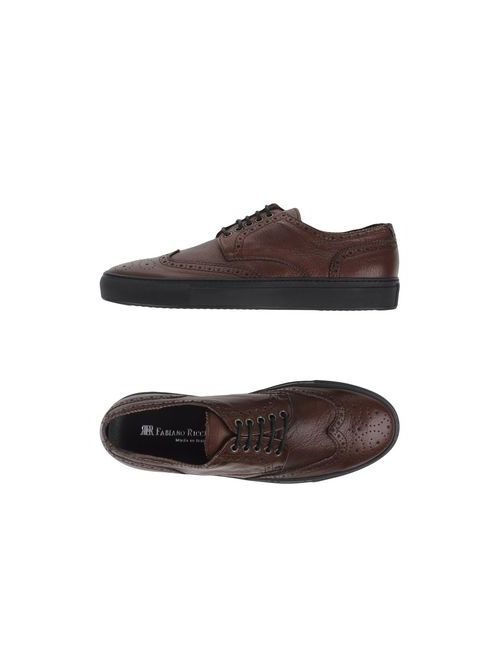 Fabiano Ricci | Мужская Какао Обувь На Шнурках