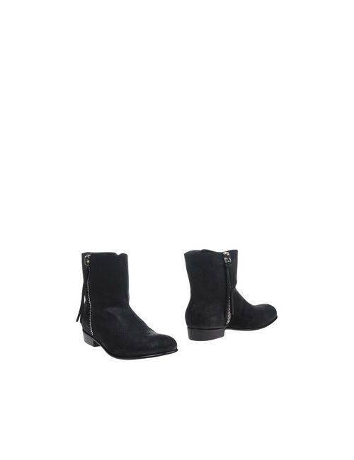 Giuseppe Zanotti Design   Мужские Чёрные Полусапоги И Высокие Ботинки