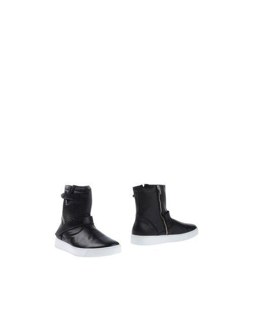 Ylati | Мужские Чёрные Полусапоги И Высокие Ботинки