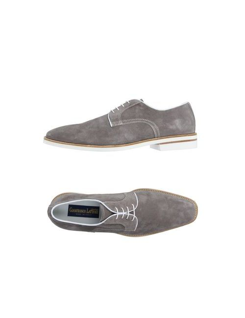 Gianfranco Lattanzi | Мужская Серая Обувь На Шнурках