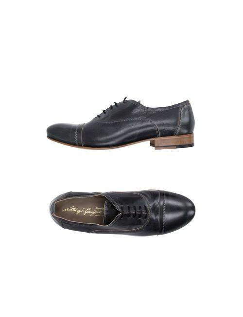 Gianfranco Lattanzi   Мужская Серая Обувь На Шнурках