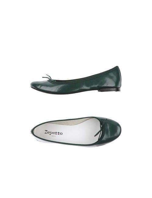 Repetto | Женские Зелёные Балетки