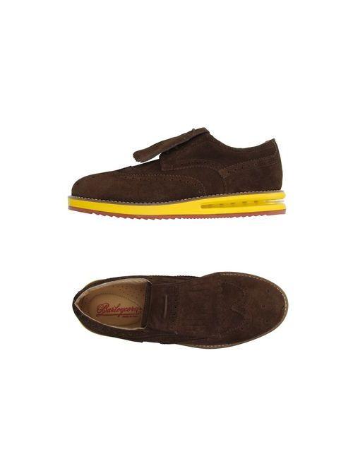 Barleycorn   Мужская Какао Обувь На Шнурках