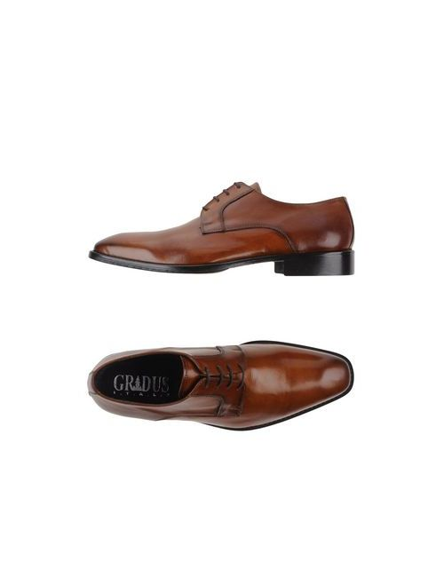 Gradus | Мужская Коричневая Обувь На Шнурках