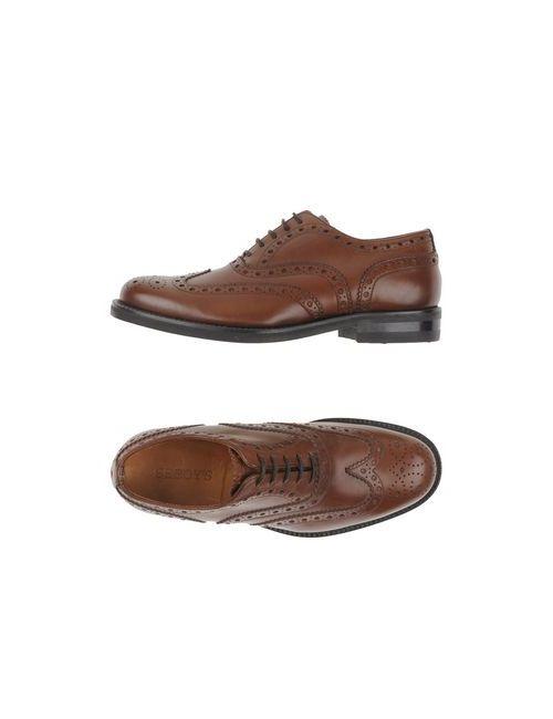 Seboy'S | Женская Коричневая Обувь На Шнурках