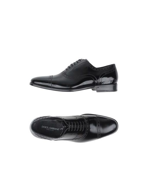 Dolce & Gabbana | Мужская Черный Обувь На Шнурках