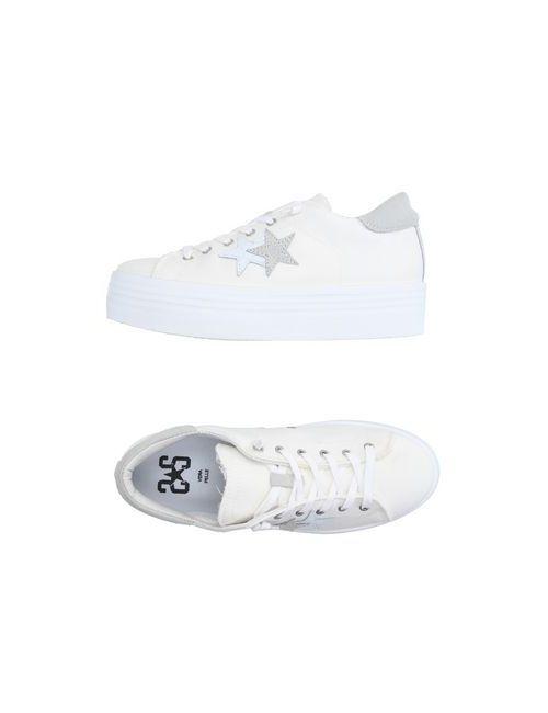 2Star | Женские Белые Низкие Кеды И Кроссовки
