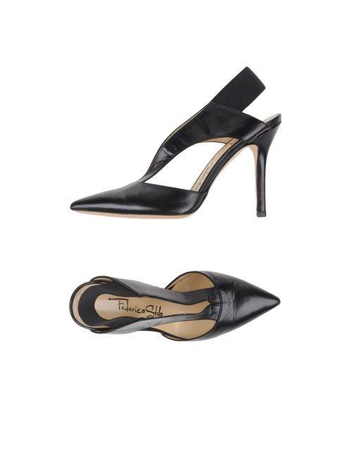 Federica Stella | Женские Чёрные Туфли