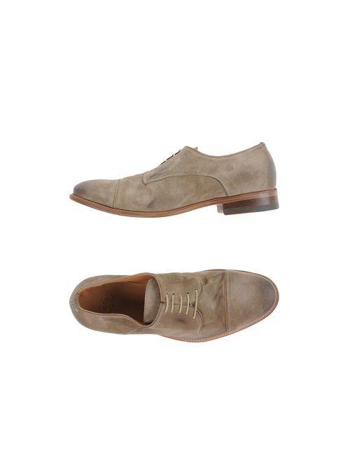 N.D.C. Made By Hand | Мужская Хаки Обувь На Шнурках
