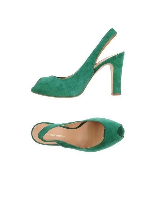 Cartechini | Женские Зелёные Сандалии