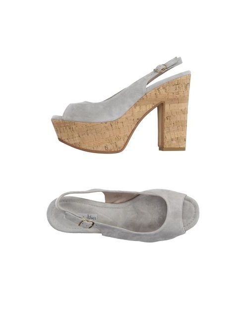 Tosca Blu Shoes | Женские Серые Сандалии