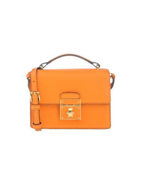Dolce & Gabbana | Женская Оранжевая Сумка Через Плечо