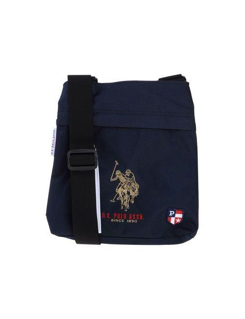 U.S. Polo Assn. | Женская Синяя Сумка Через Плечо