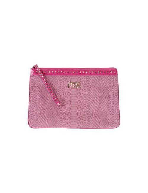 Class Roberto Cavalli | Женская Розовая Сумка На Руку