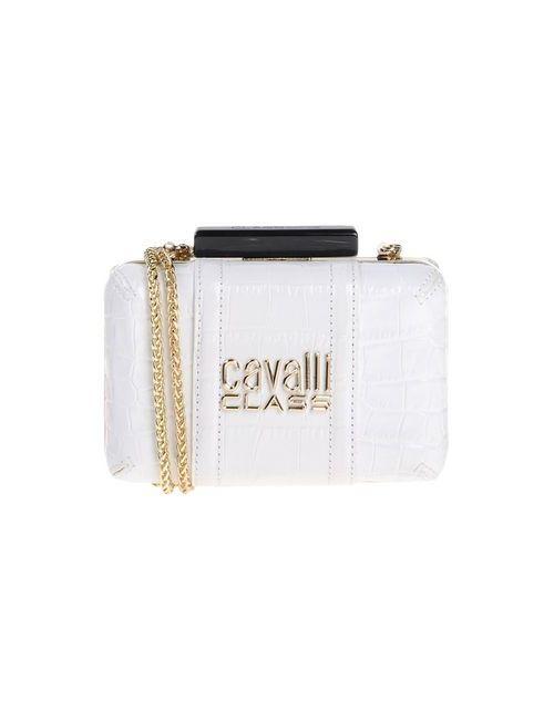 Class Roberto Cavalli | Женская Белая Сумка На Руку