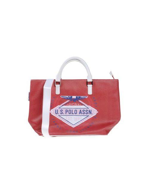 U.S. Polo Assn.   Женская Красная Сумка На Руку