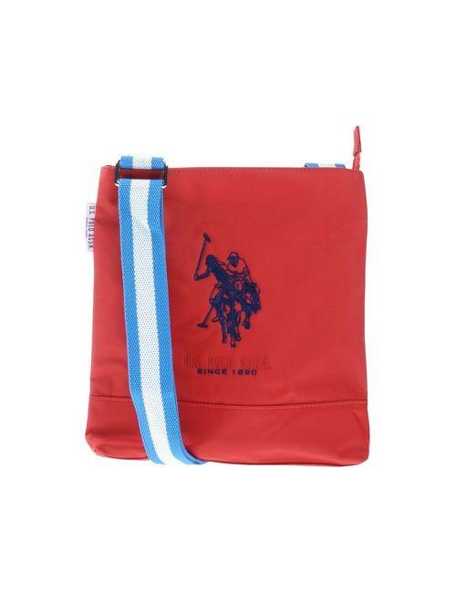U.S. Polo Assn. | Женская Красная Сумка Через Плечо