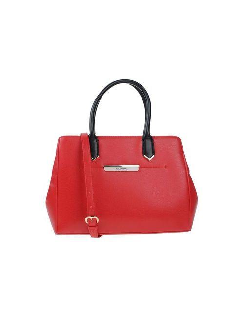 Valentino | Женская Красная Сумка На Руку
