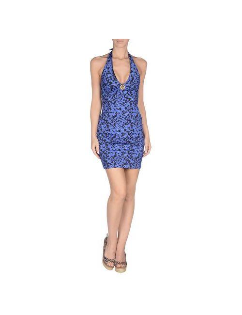 Roberto Cavalli Beachwear | Женское Синее Пляжное Платье