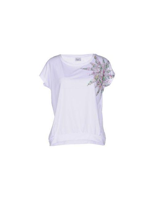 Blugirl Blumarine Beachwear | Женская Белая Футболка