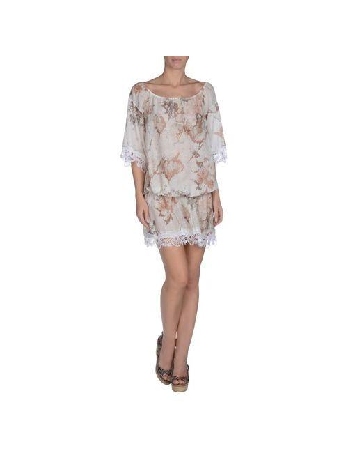 Twin-Set Simona Barbieri | Женское Белое Пляжное Платье