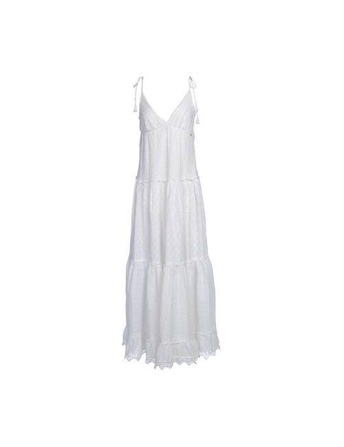 Emamò | Женское Белое Длинное Платье